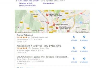 Cet agence web sur Grenoble : au top de Google !