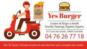 livraison burger grenoble